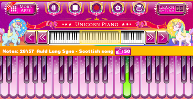 Unicorn Piano screenshot 3