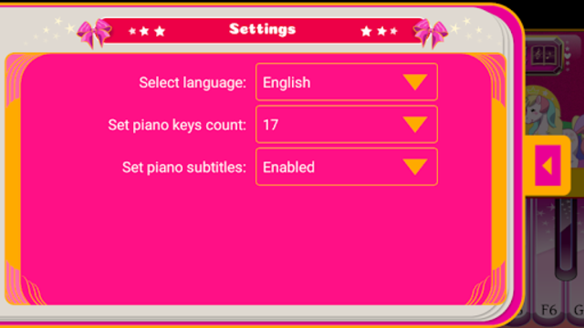 Unicorn Piano screenshot 8