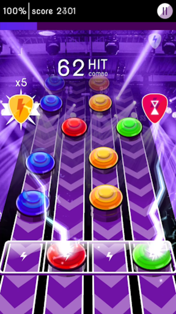 Rock Challenge: Electric Guitar Game screenshot 1