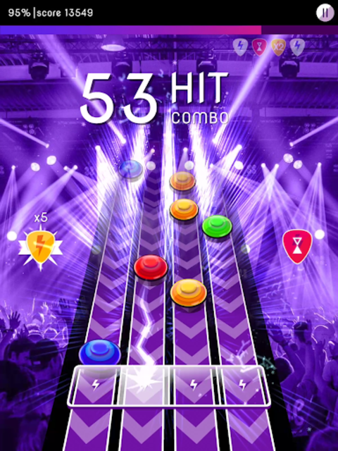 Rock Challenge: Electric Guitar Game screenshot 9