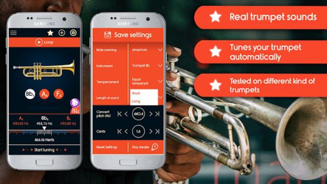 Master Trumpet Tuner screenshot 1