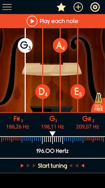 Master Violin Tuner screenshot 2