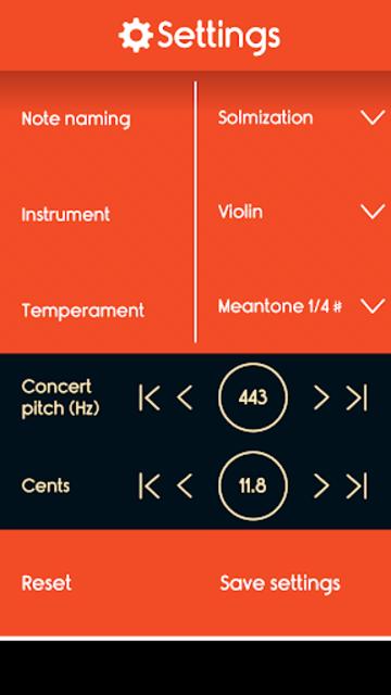 Master Violin Tuner screenshot 3