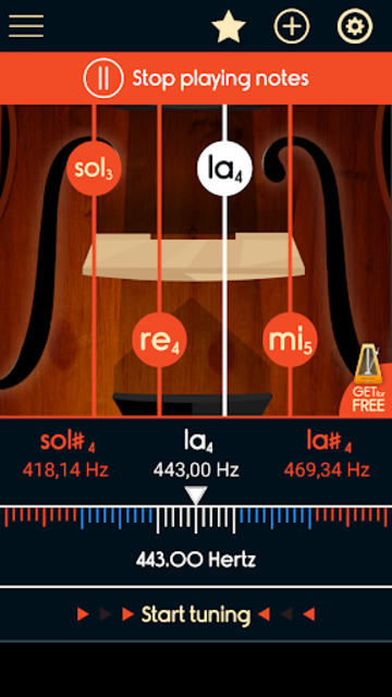 Master Violin Tuner screenshot 4