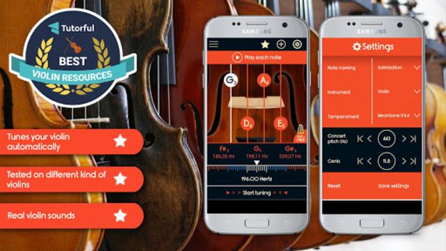 Master Violin Tuner screenshot 1