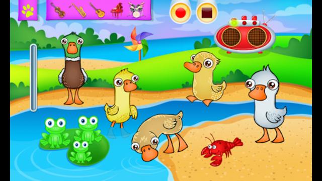 123 Kids Fun ANIMAL BAND Game screenshot 5