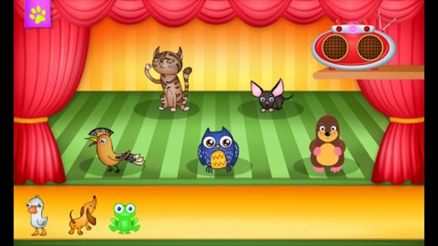 123 Kids Fun ANIMAL BAND Game screenshot 3