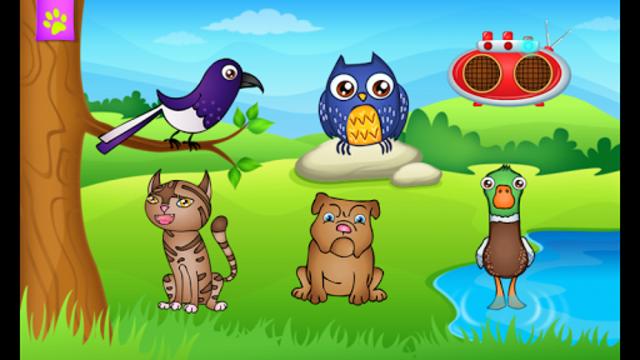 123 Kids Fun ANIMAL BAND Game screenshot 4