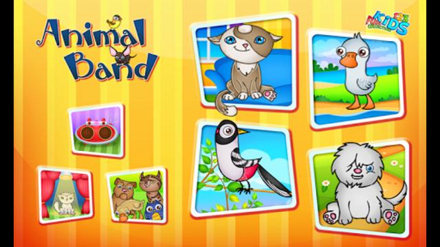 123 Kids Fun ANIMAL BAND Game screenshot 8