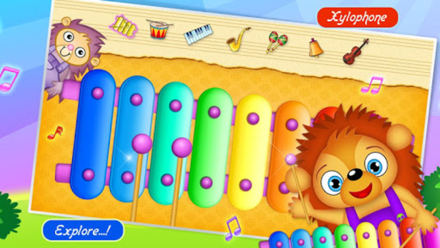 123 Kids Fun Music Games Free screenshot 1