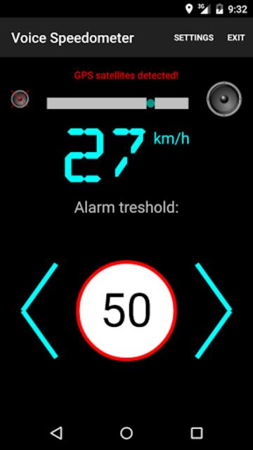 Voice Speedometer Full Version screenshot 1