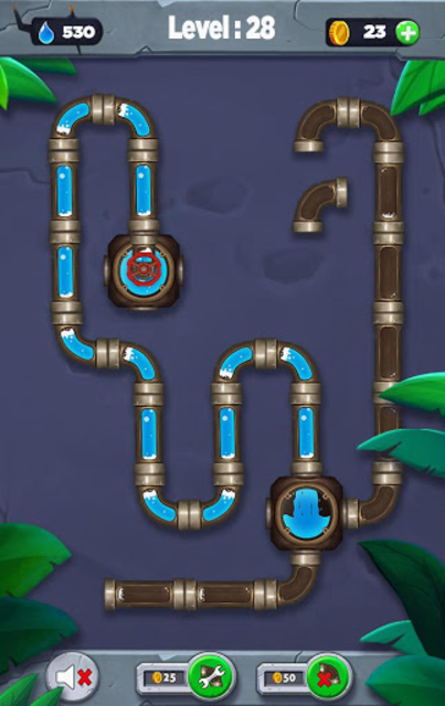 Water flow - Connect the pipes screenshot 5