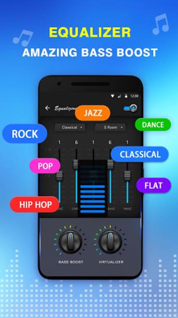 Bass Equalizer & Pod Music screenshot 5