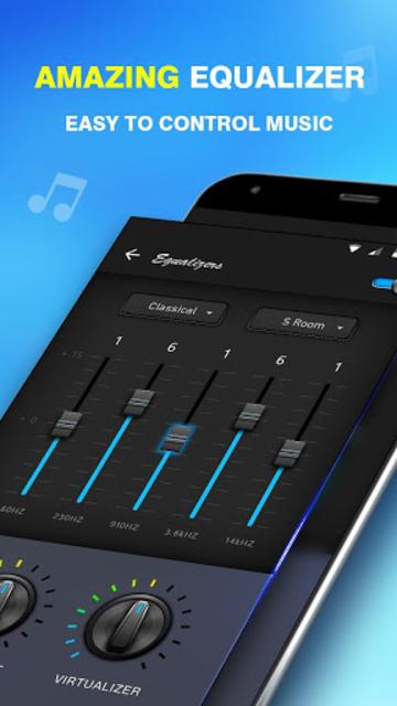 Bass Equalizer & Pod Music screenshot 8