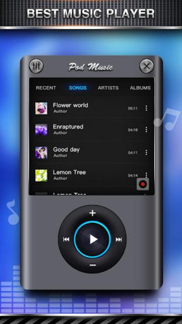 Bass Equalizer & Pod Music screenshot 1