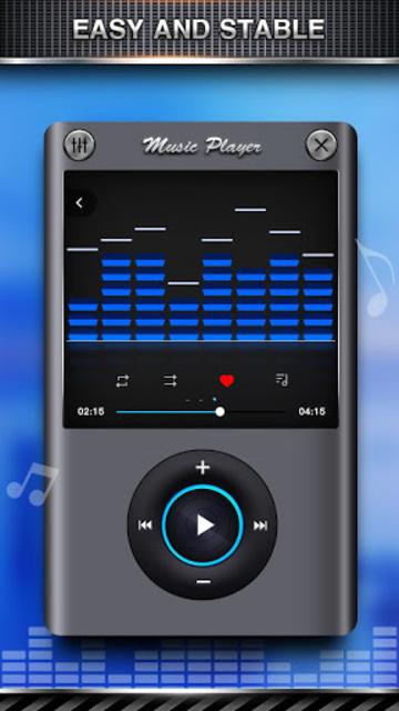 Bass Equalizer & Pod Music screenshot 2