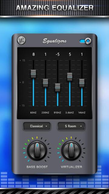 Bass Equalizer & Pod Music screenshot 3