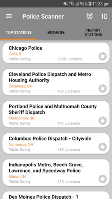 Police Scanner screenshot 1
