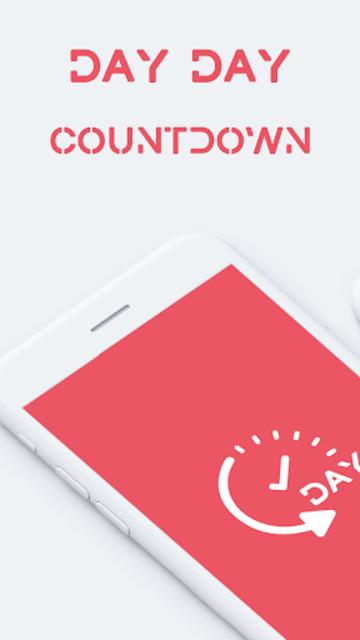 DAY DAY Countdown Widget screenshot 1