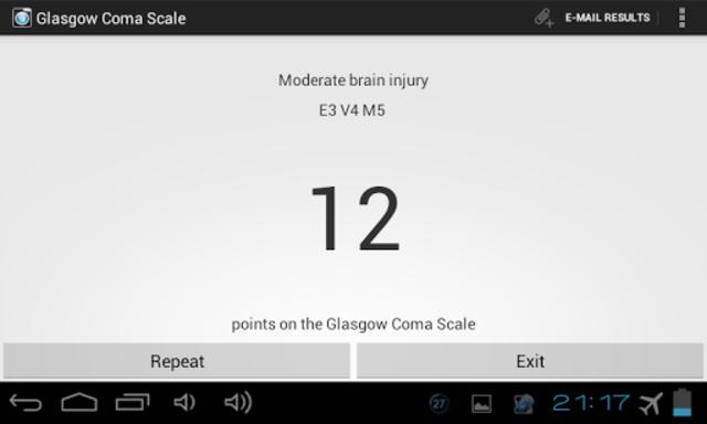 Glasgow Coma Scale PRO screenshot 10
