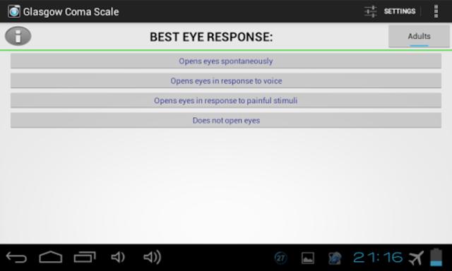 Glasgow Coma Scale PRO screenshot 12