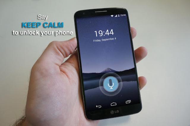 Voice Lock Screen screenshot 2