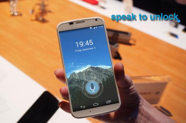 Voice Lock Screen screenshot 3