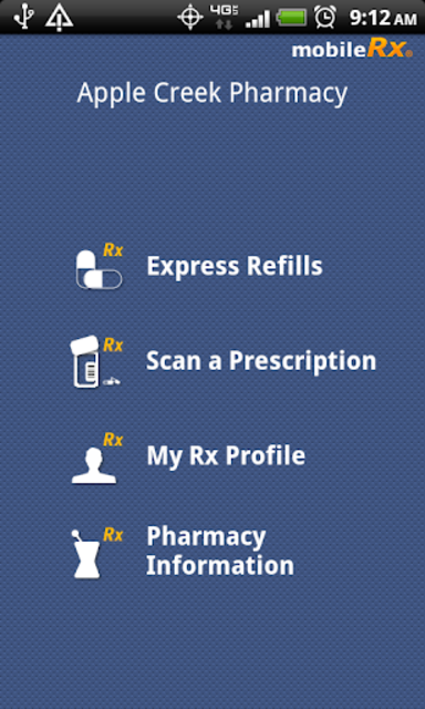 mobileRx Pharmacy screenshot 1