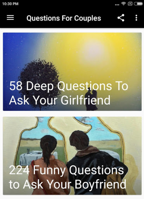 QUESTIONS FOR COUPLES screenshot 2