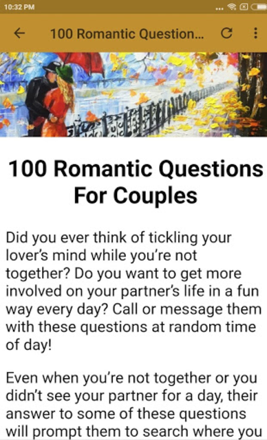 QUESTIONS FOR COUPLES screenshot 6