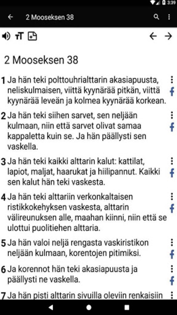 Bible in Finnish screenshot 26