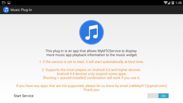 MyMTCService - Music Plug-in