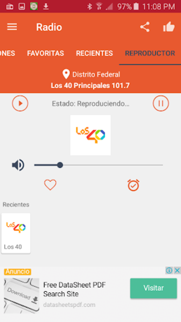 Free Radio - FM Radio screenshot 7