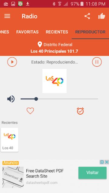 Free Radio - FM Radio screenshot 15