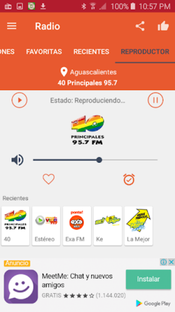 Free Radio - FM Radio screenshot 16
