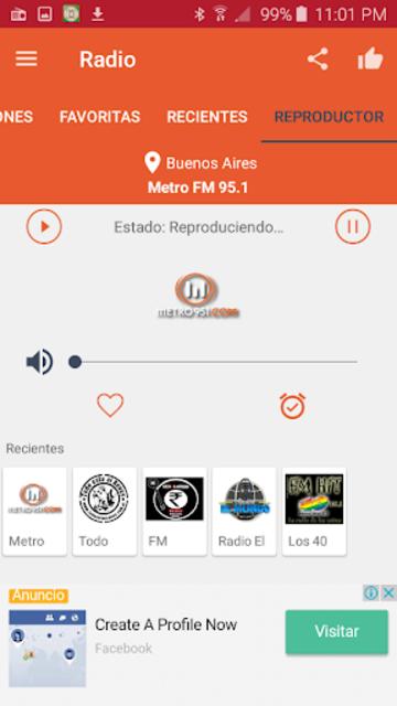 Free Radio - FM Radio screenshot 19
