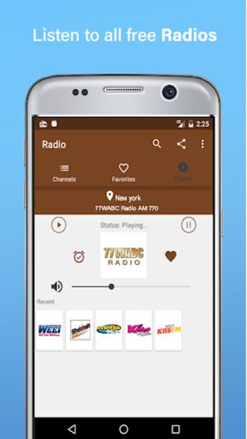 Radio Fm Free Without Internet - Offline Radio screenshot 1