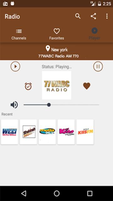 Radio Fm Free Without Internet - Offline Radio screenshot 5
