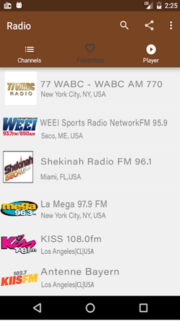 Radio Fm Free Without Internet - Offline Radio screenshot 6