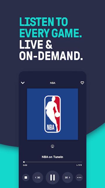 TuneIn Pro: Live Sports, News, Music & Podcasts screenshot 1