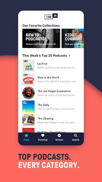 TuneIn Pro: Live Sports, News, Music & Podcasts screenshot 3