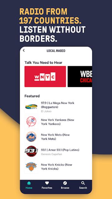 TuneIn Pro: Live Sports, News, Music & Podcasts screenshot 4