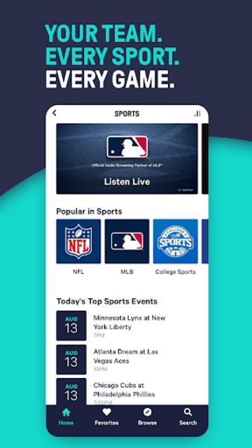 TuneIn Pro: Live Sports, News, Music & Podcasts screenshot 6