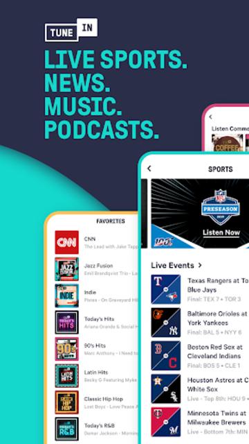 TuneIn Pro: Live Sports, News, Music & Podcasts screenshot 7