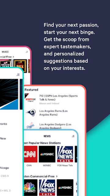TuneIn Pro: Live Sports, News, Music & Podcasts screenshot 8