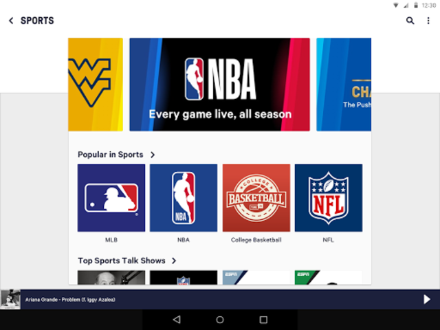TuneIn Pro: Live Sports, News, Music & Podcasts screenshot 9