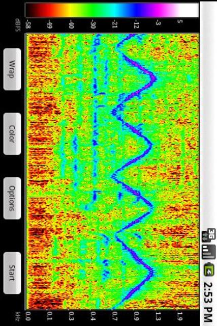 SpectralPro Analyzer screenshot 1