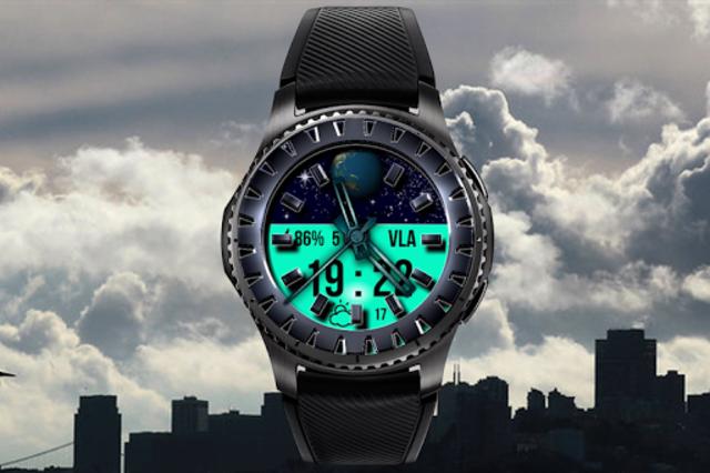 Digital Knight3  Watch face screenshot 1
