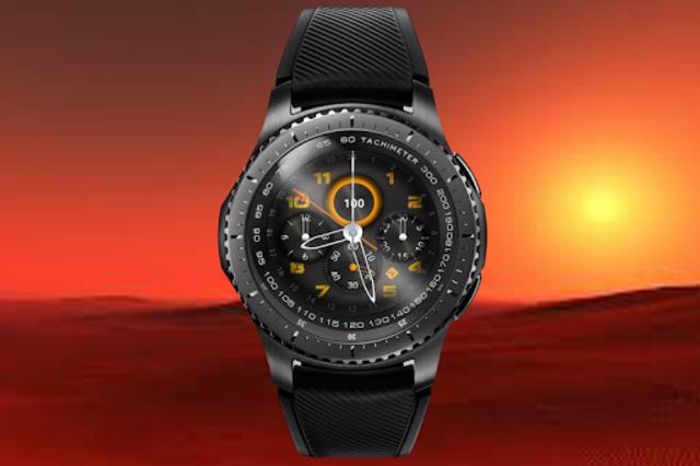 Pilot knight watchface for Watchmaker screenshot 1