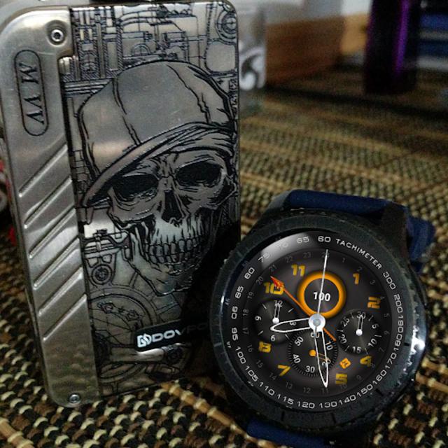 Pilot knight watchface for Watchmaker screenshot 3